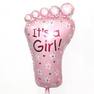 Кулька надувна Ніжка Для Дівчинки  80 см