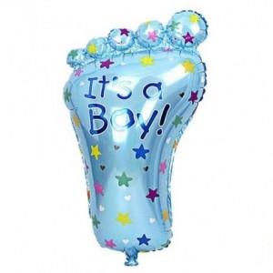 Кулька надувна Ніжка Для Хлопчика 80 см